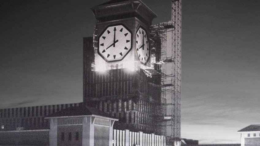 Clock Tower Construction