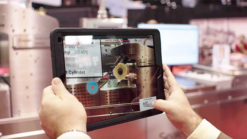 VIDEO: See how augmented reality makes work instruction easy in this demo with smart machine manufacturer Harpak Ulma and Rockwell Automation.