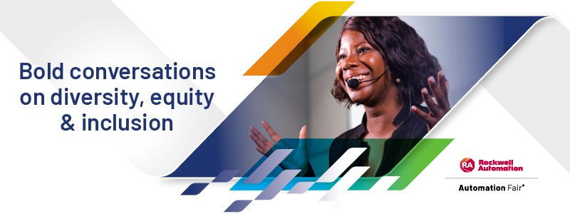 Rockwell Automation Bold Conversations on Diversity, Equity and Inclusion exhibit at Automation Fair 2021