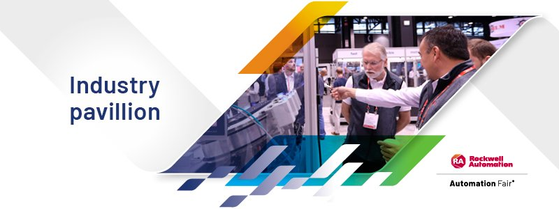 Rockwell Automation Industry Pavilion at the 2021 Automation Fair event