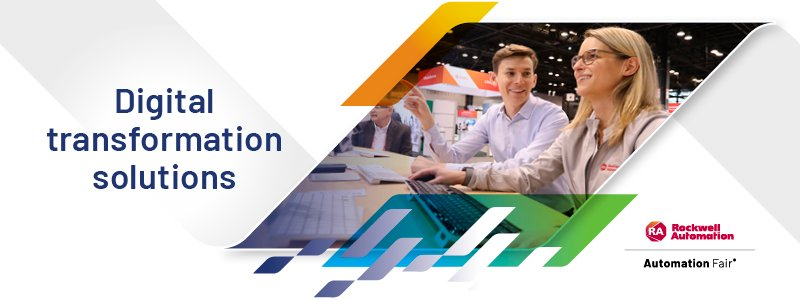 Rockwell Automation Digital Transformation Solutions exhibit at Automation Fair 2021