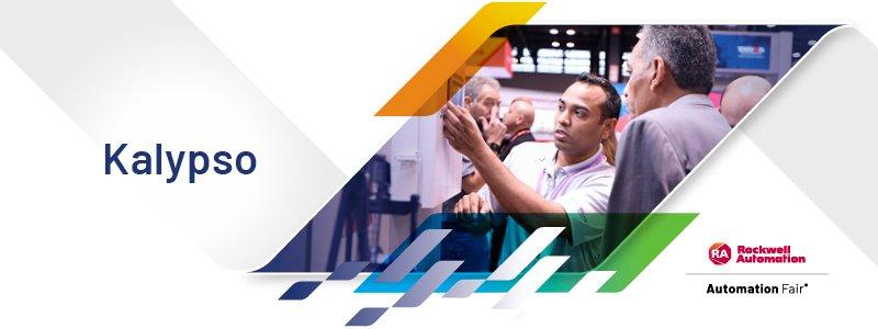 Rockwell Automation Kalypso exhibit at Automation Fair 2021