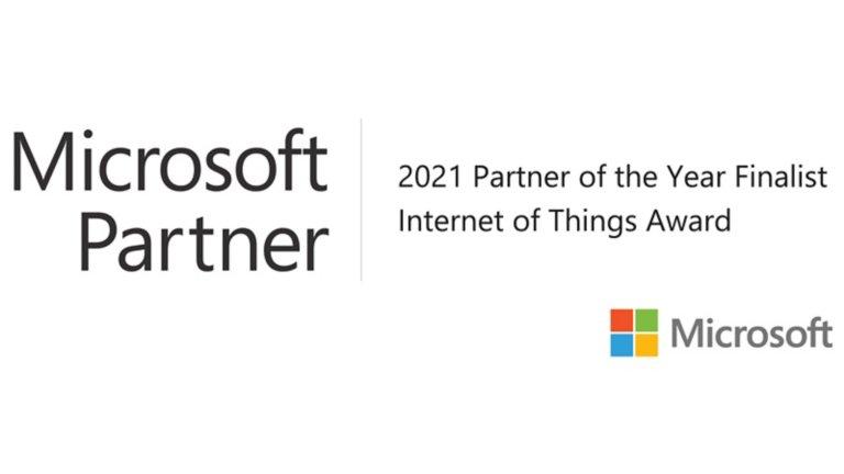 RA Microsoft IIOT Partnership finalist