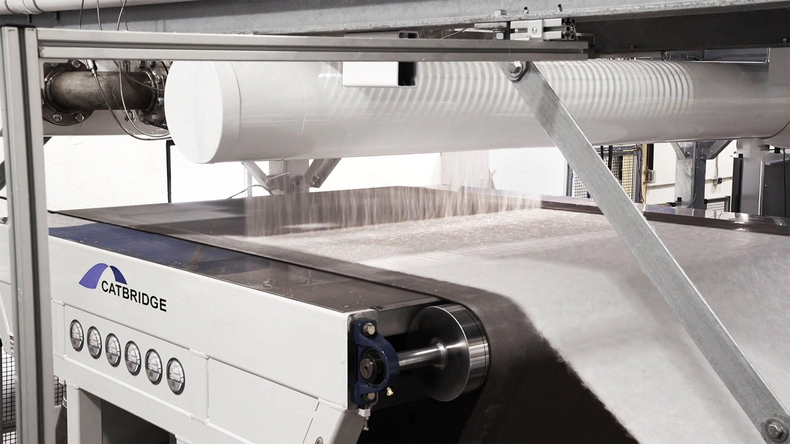 Meltblown production machine