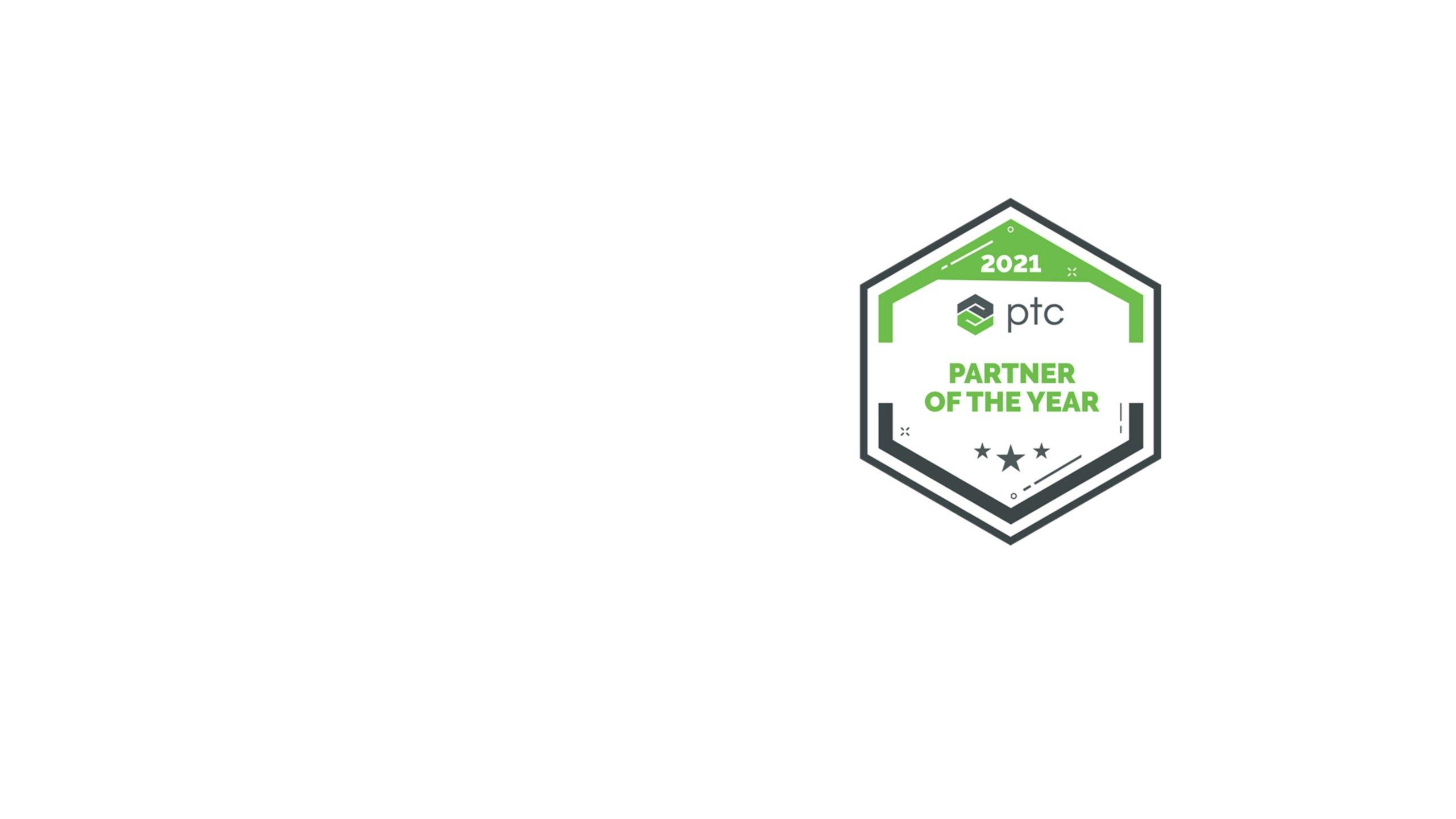 Green, white and black PTC Partner Network Award logo