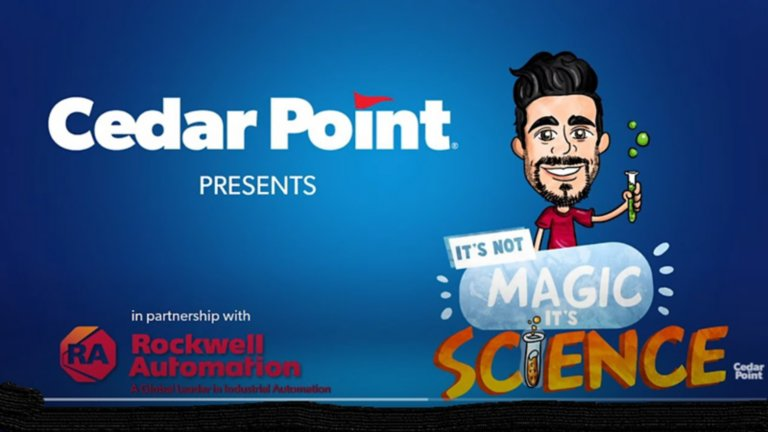 cedar point promoting partnership with rockwell automation and magic science