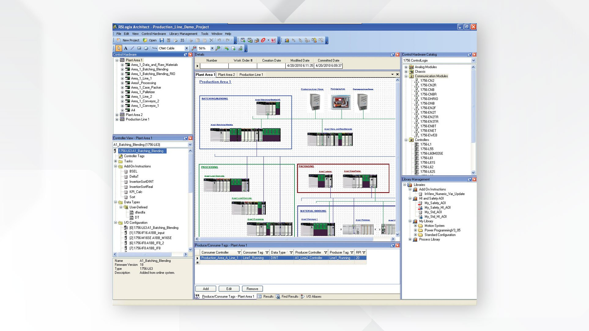 screenshot of add-on profiles interface