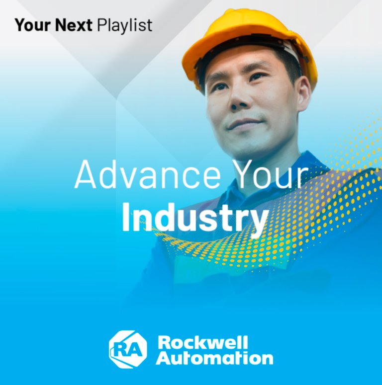 Advance Your Industry webinar playlist featuring the top industry-centric sessions from Rockwell Automation events