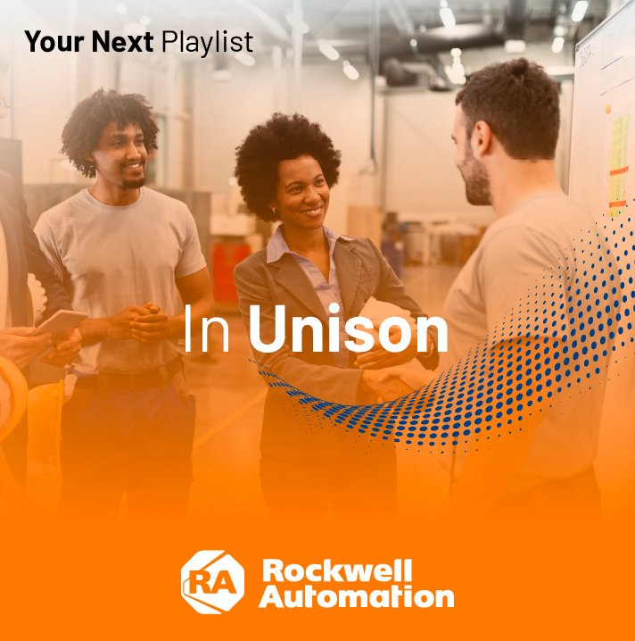 In Unison session playlist featuring the top inclusion and diversity sessions from Rockwell Automation