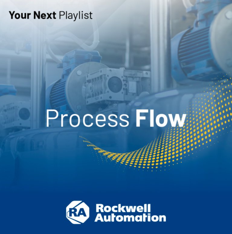 Process Flow webinar playlist featuring the top process sessions from Rockwell Automation events