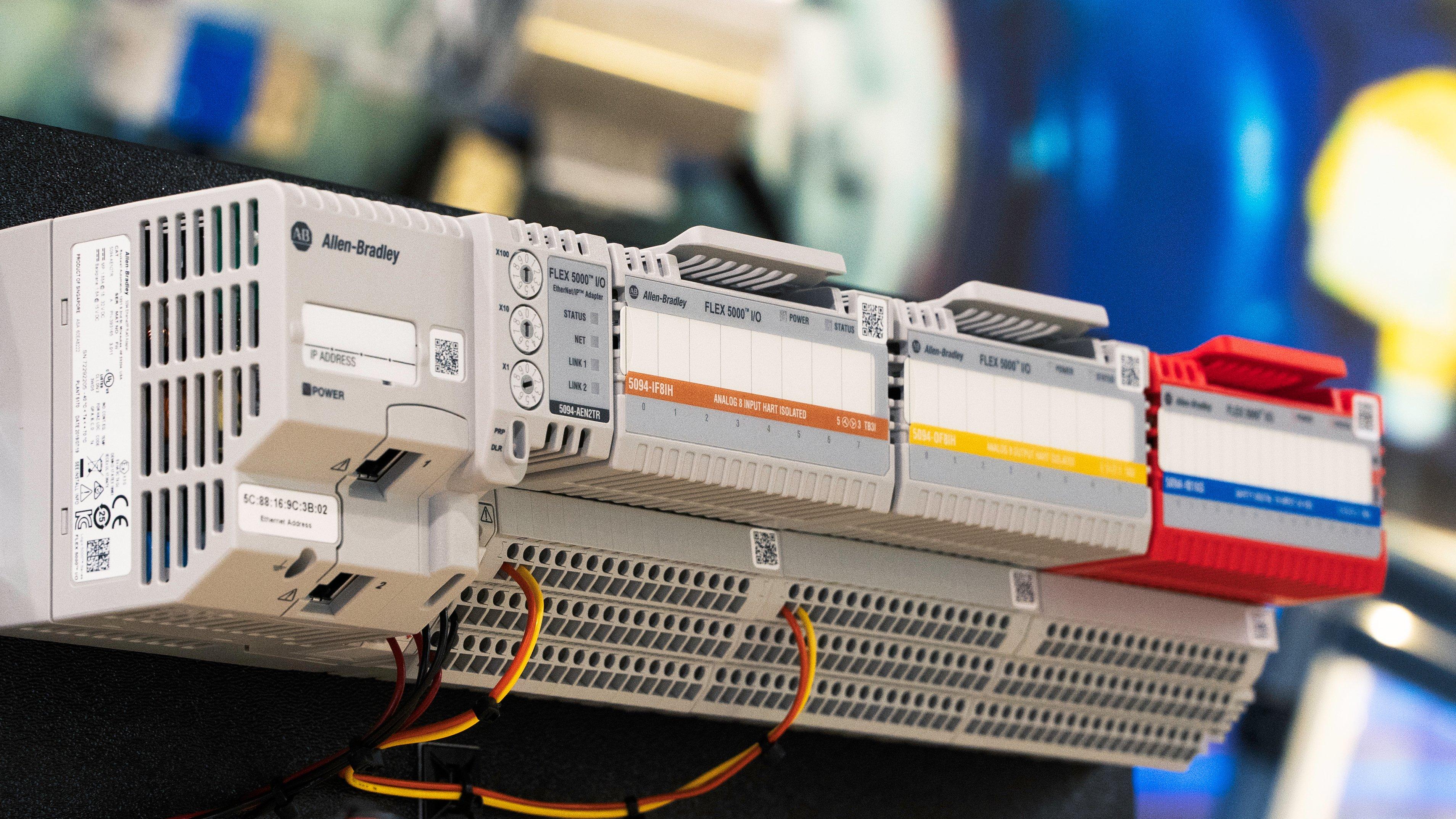 O novo módulo de E/S HART FLEX 5000 da Allen-Bradley