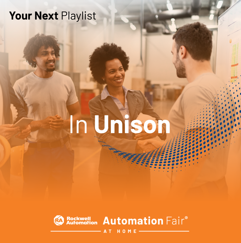In Unison webinar playlist featuring the top inclusion and diversity sessions from Automation Fair® At Home