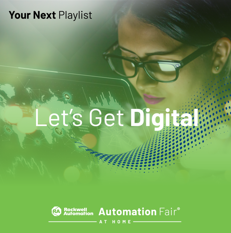 Digital Strategists webinar playlist featuring the top digital transformation sessions from Automation Fair® At Home.