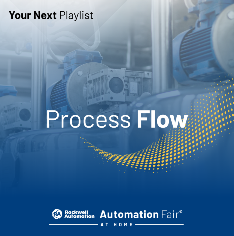 Process Flow webinar playlist featuring the top process sessions from Automation Fair® At Home