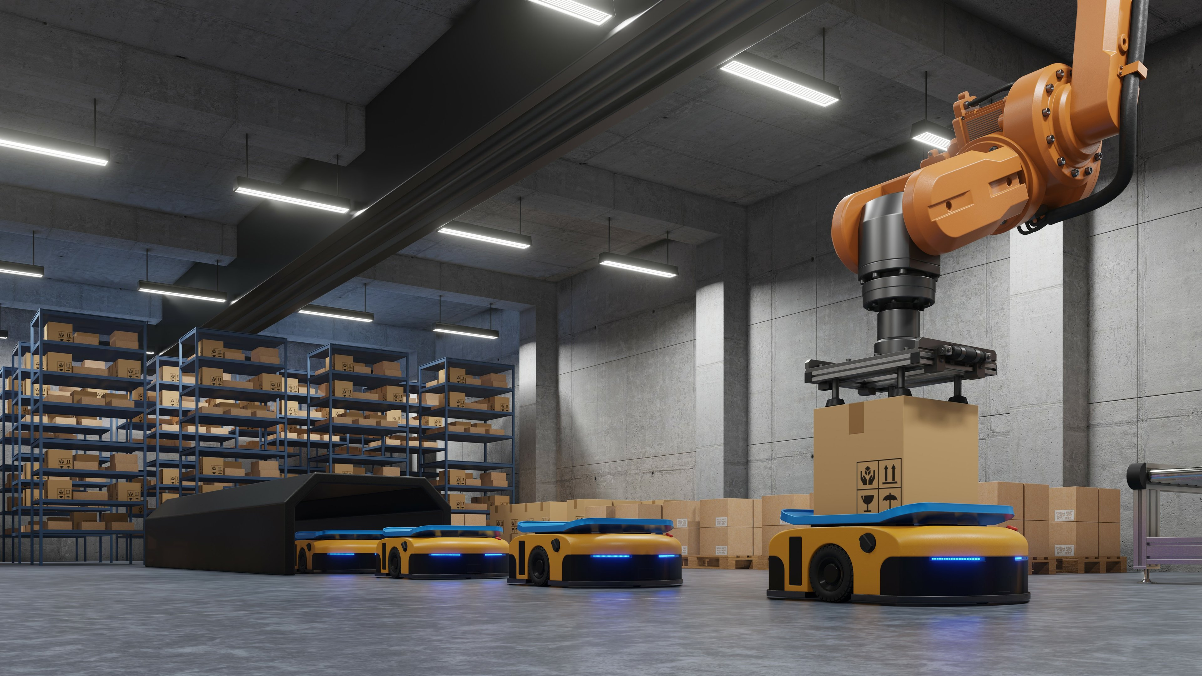 Automated Material Handling Systems