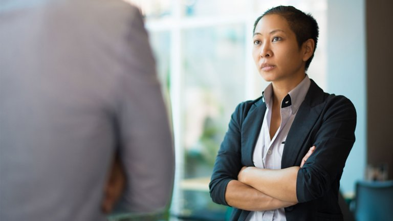 Panalists discuss examples of microaggressions, their impact, and how to address them in the workplace