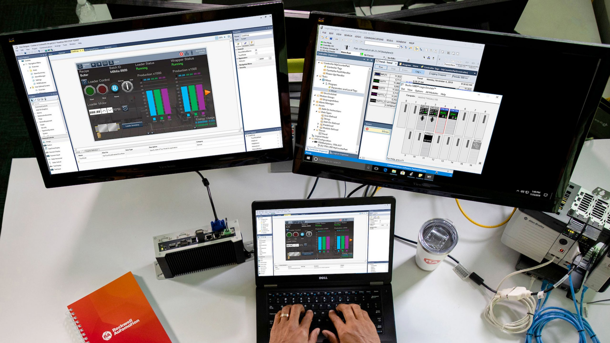 Design HMI with Studio 5000 View Designer