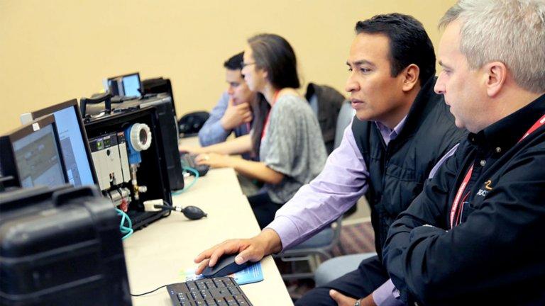 Employees strategizing ways to mitigate workforce challenges