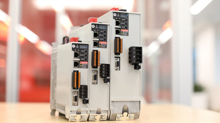 The new Allen-Bradley® Kinetix® 5300 and Kinetix® 5100 servo drives