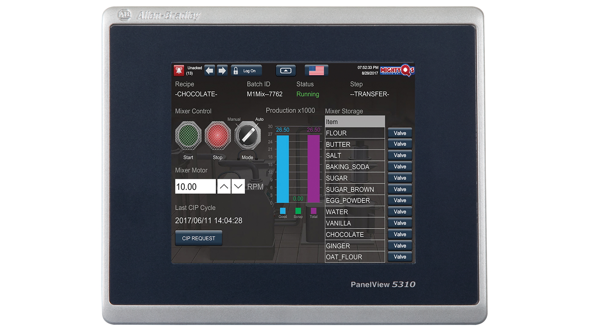 PanelView-5310 monitor