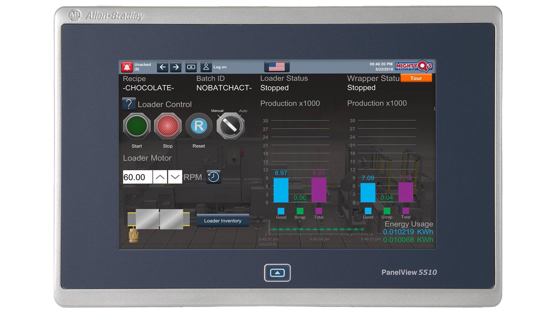 PanelView-5510 monitor