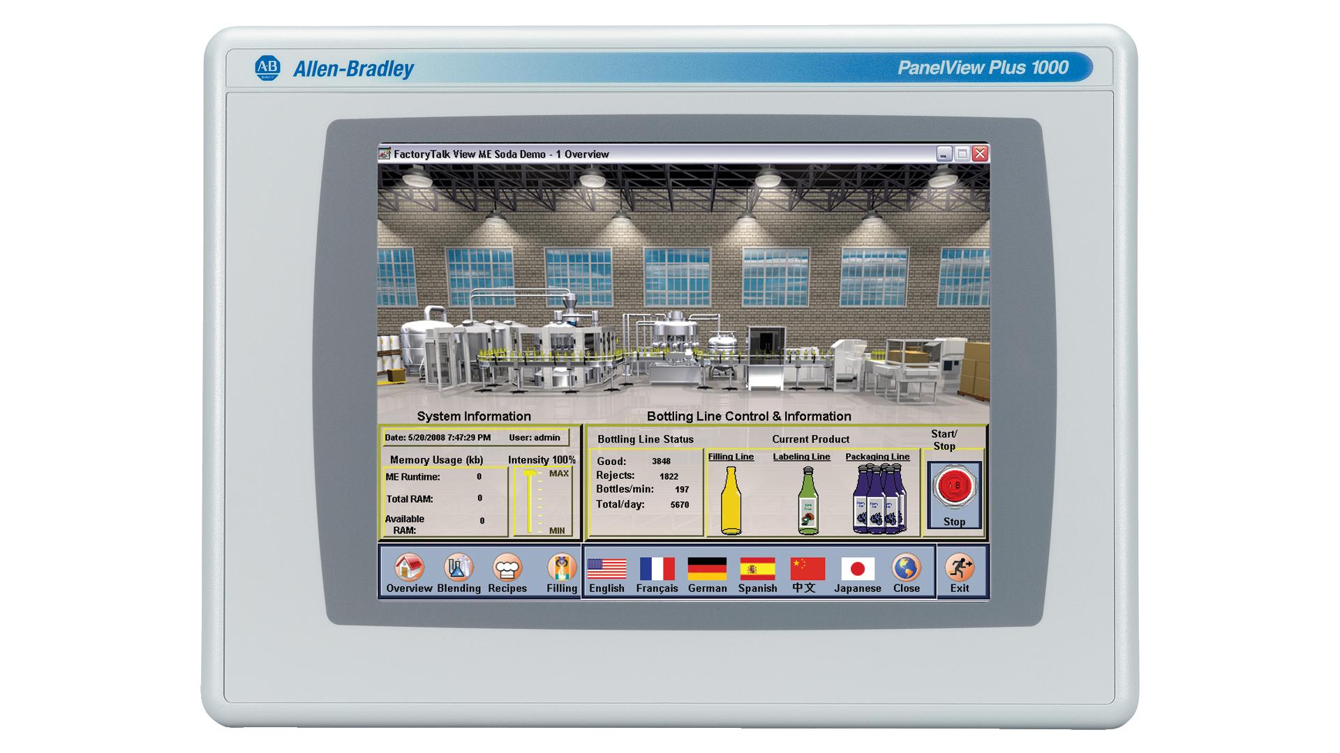 PanelView-Plus-1000 monitor