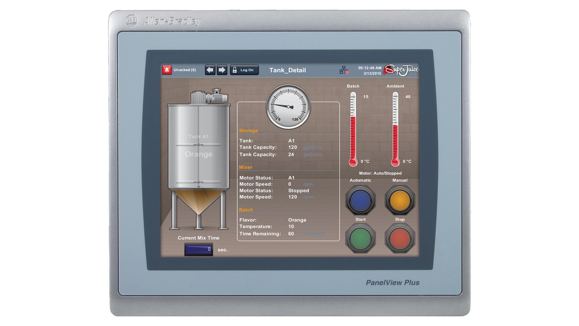 PanelViewPlus7-10in monitor