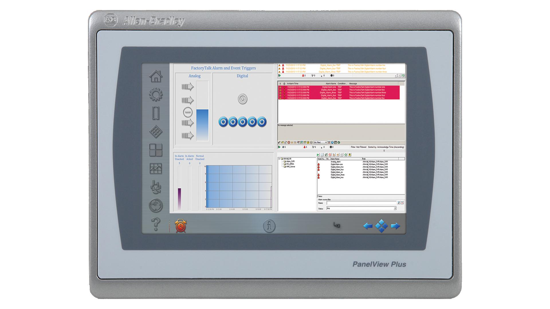 PanelViewPlus7-4in monitor