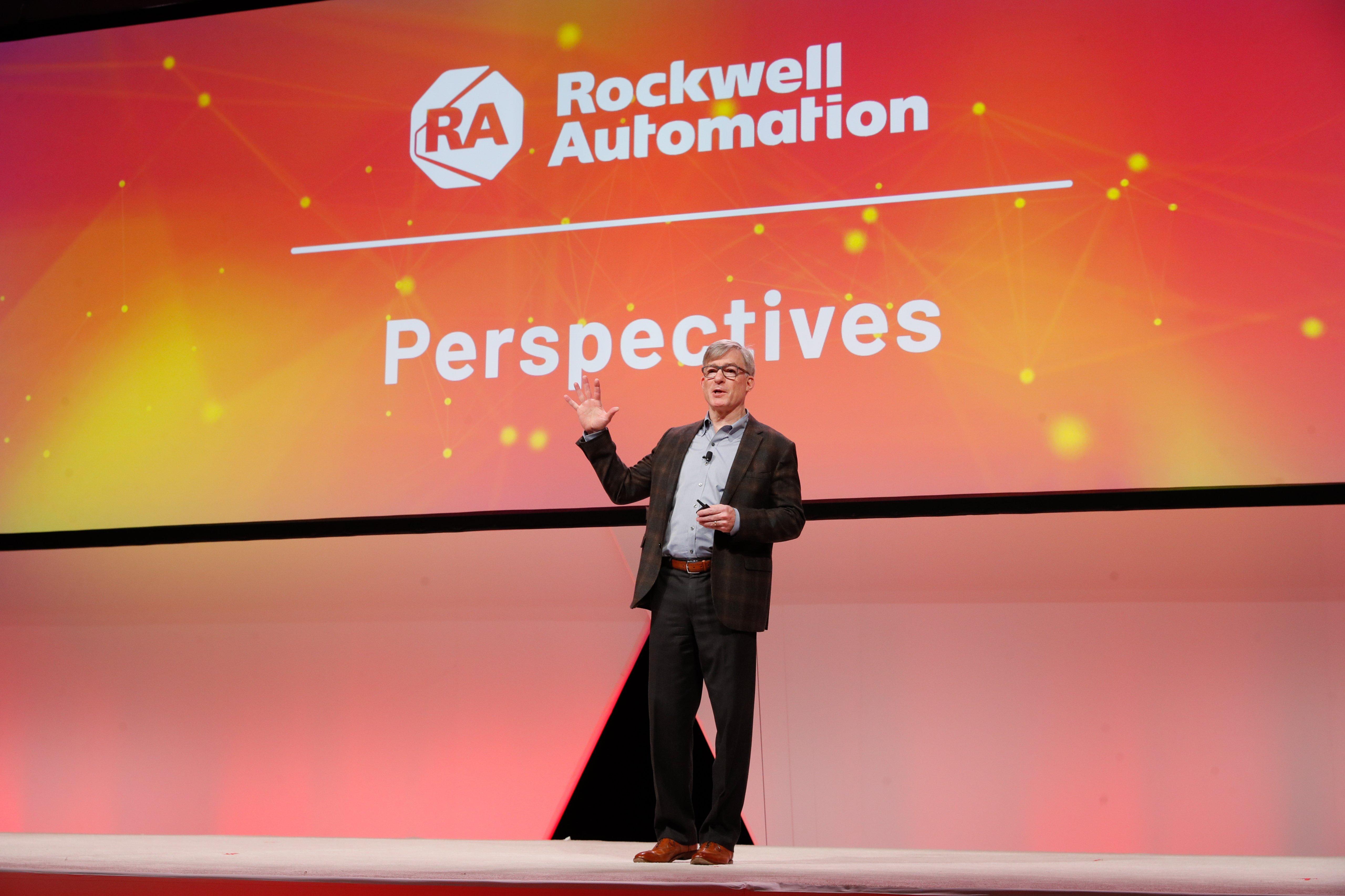 Perspectives keynote presentations at Automation Fair