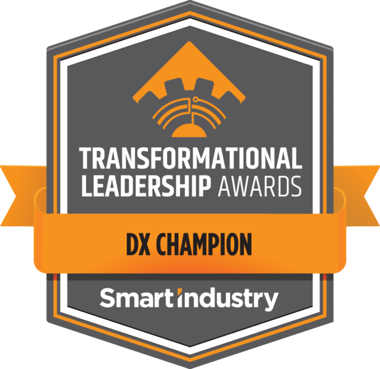 Smart Industry Transformational Leadership Awards - DX Champion