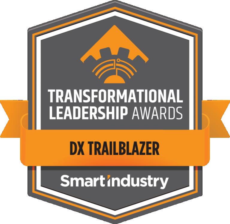 Smart Industry Transformational Leadership Awards - DX Trailblazer