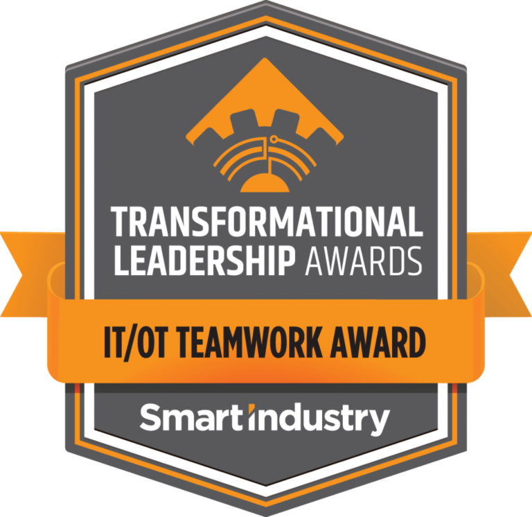 Smart Industry Transformational Leadership Awards - IT/OT Teamwork Award