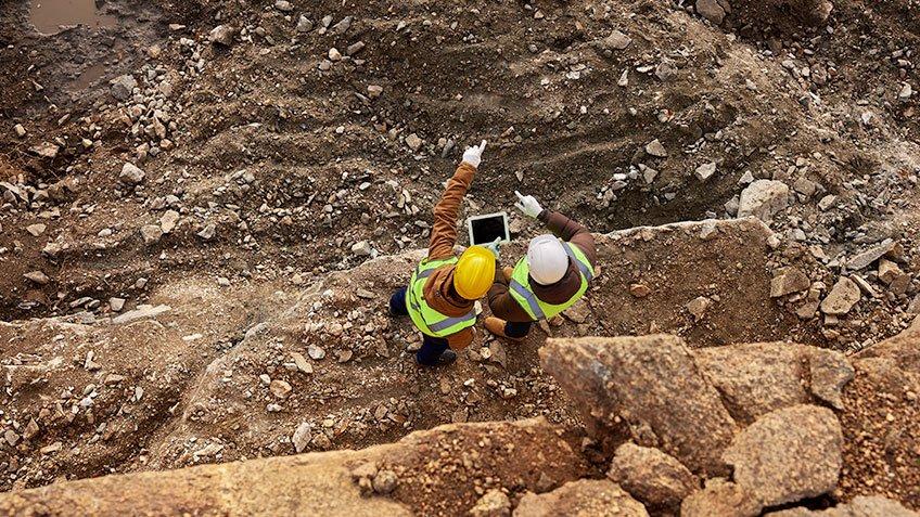 Cinco ganhos digitais para empresas de mineração