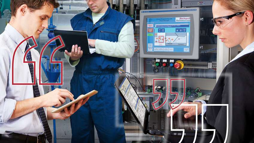 Talk to Rockwell Automation about the Connected Enterprise
