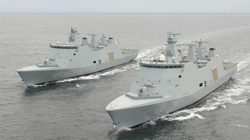 Die dänische Marine hat wieder Wind in den Segeln