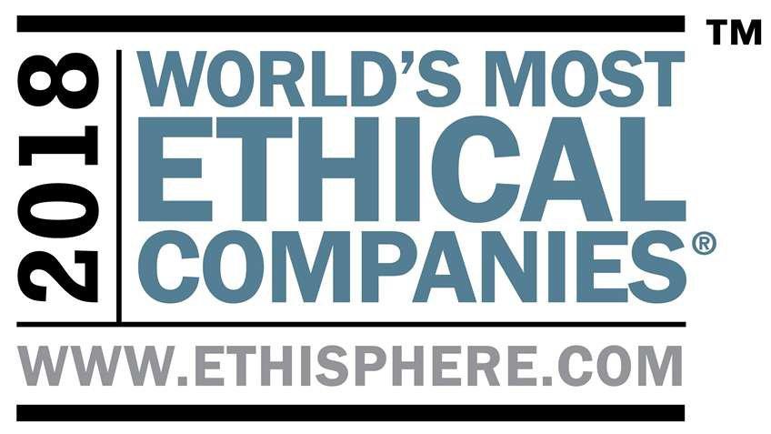 「2020年世界で最も倫理的な企業」に12度目となる選出