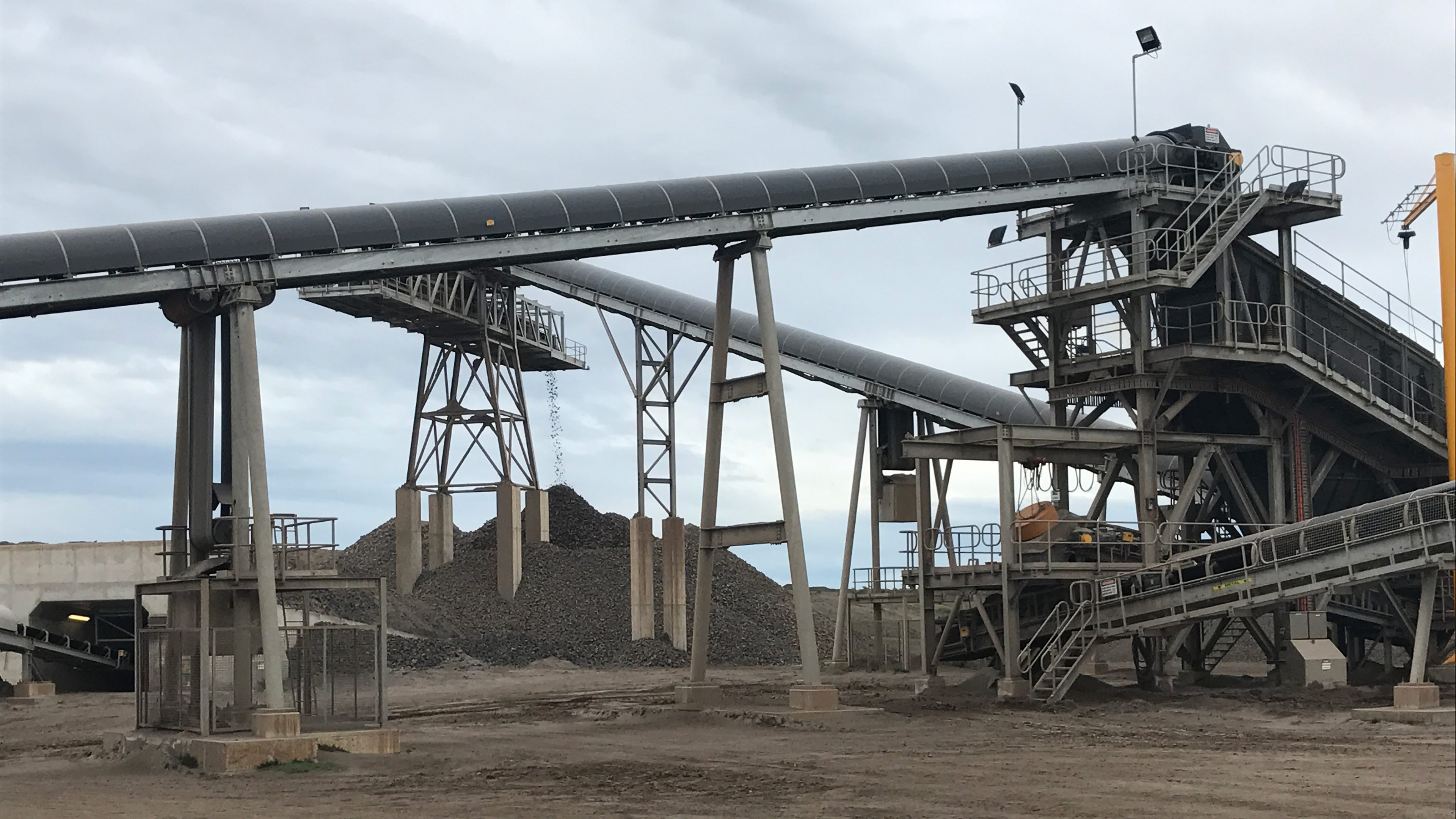 Mountain View Quarries Enhances Productivity