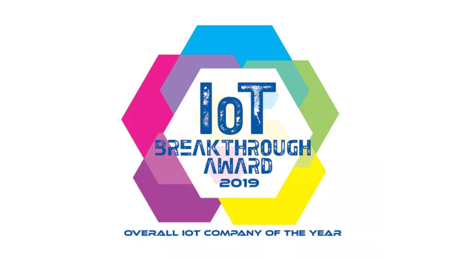 2019年度IoTカンパニー・オブ・ザ・イヤーに選出