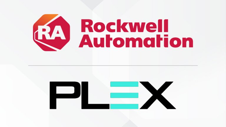 Rockwell Automation and Plex Systems logos