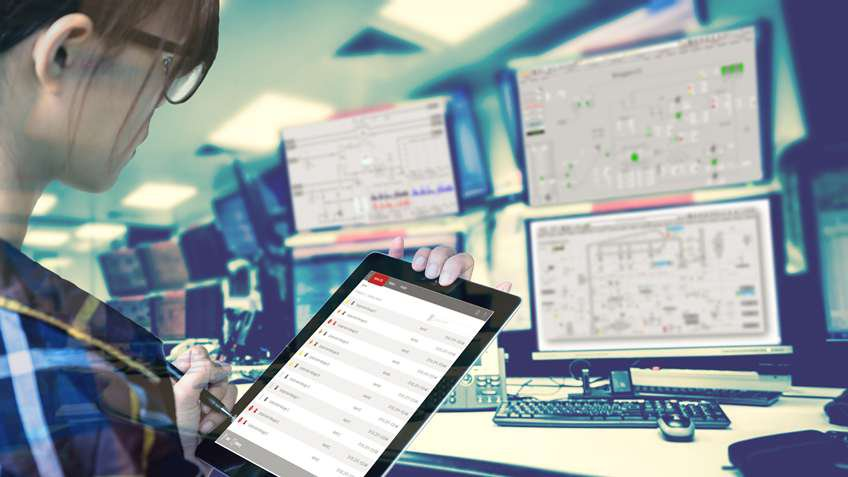 Help production personnel more quickly see and react to alarms using modern HMI software.
