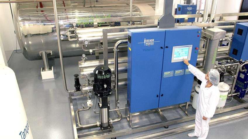 Projeto inovador para desionizar água