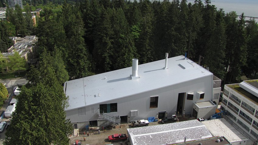 La planta de biomasa de la universidad reduce las emisiones