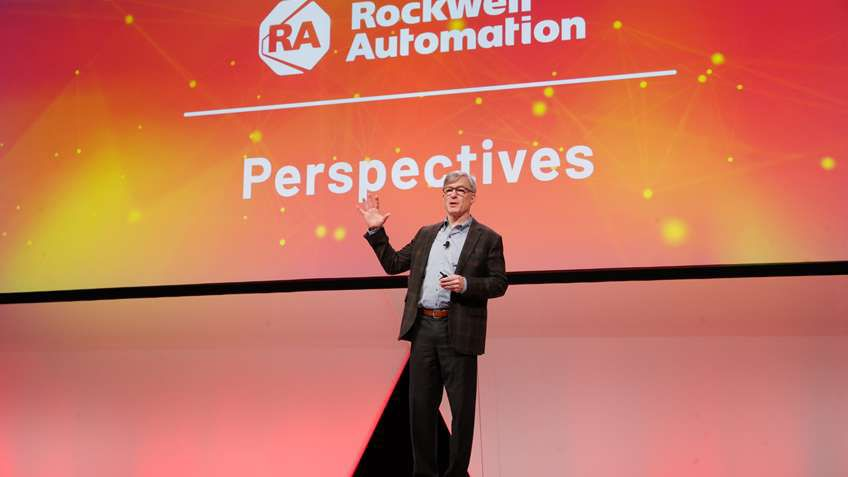 """""""At the heart of Automation Fair is the special, unmatched relationship we have with our partners."""" — Blake Moret, CEO, Rockwell Automation"""
