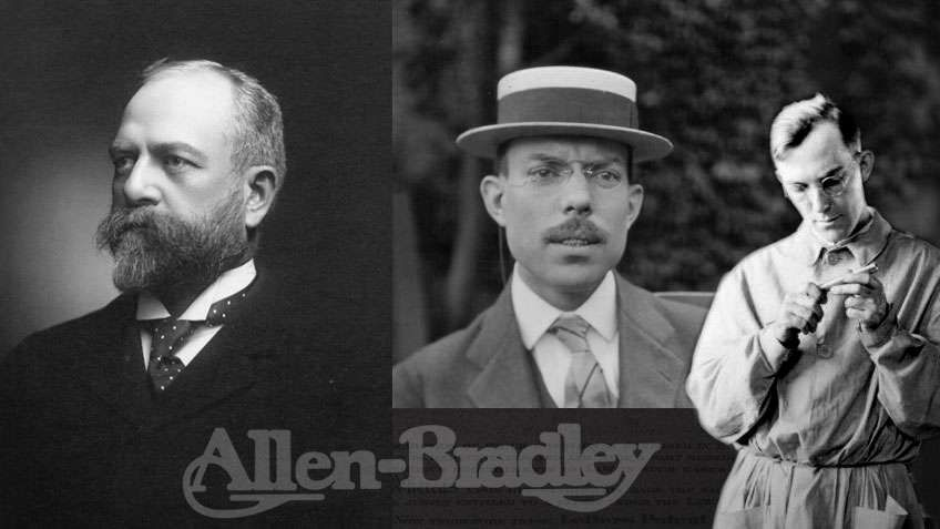 Stanton Allen 博士、Lynde Bradley 和 Harry Bradley
