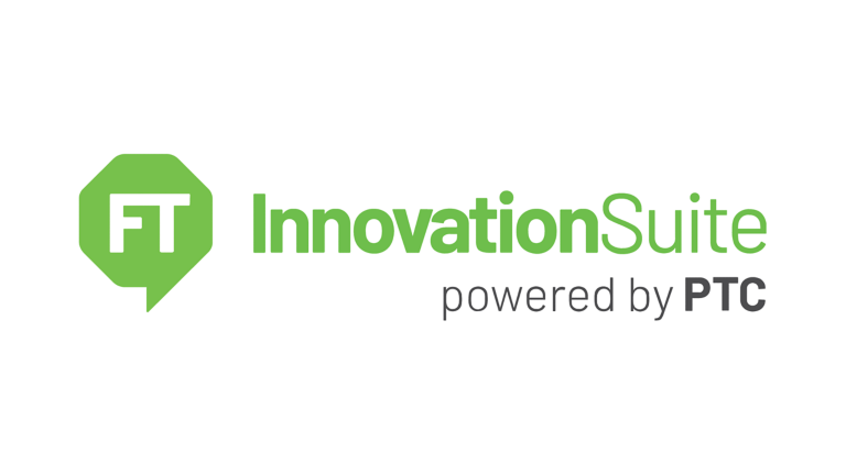 FactoryTalk InnovationSuite powered by PTC green logo