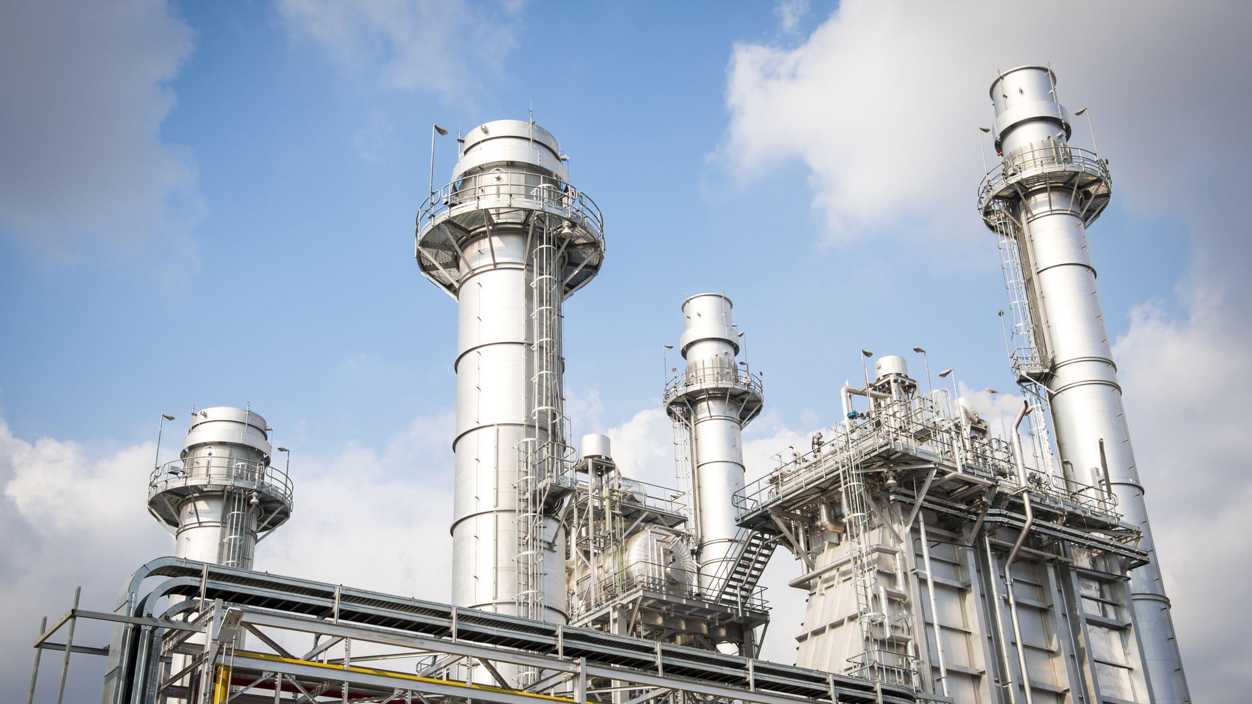 Geração de energia de gás natural