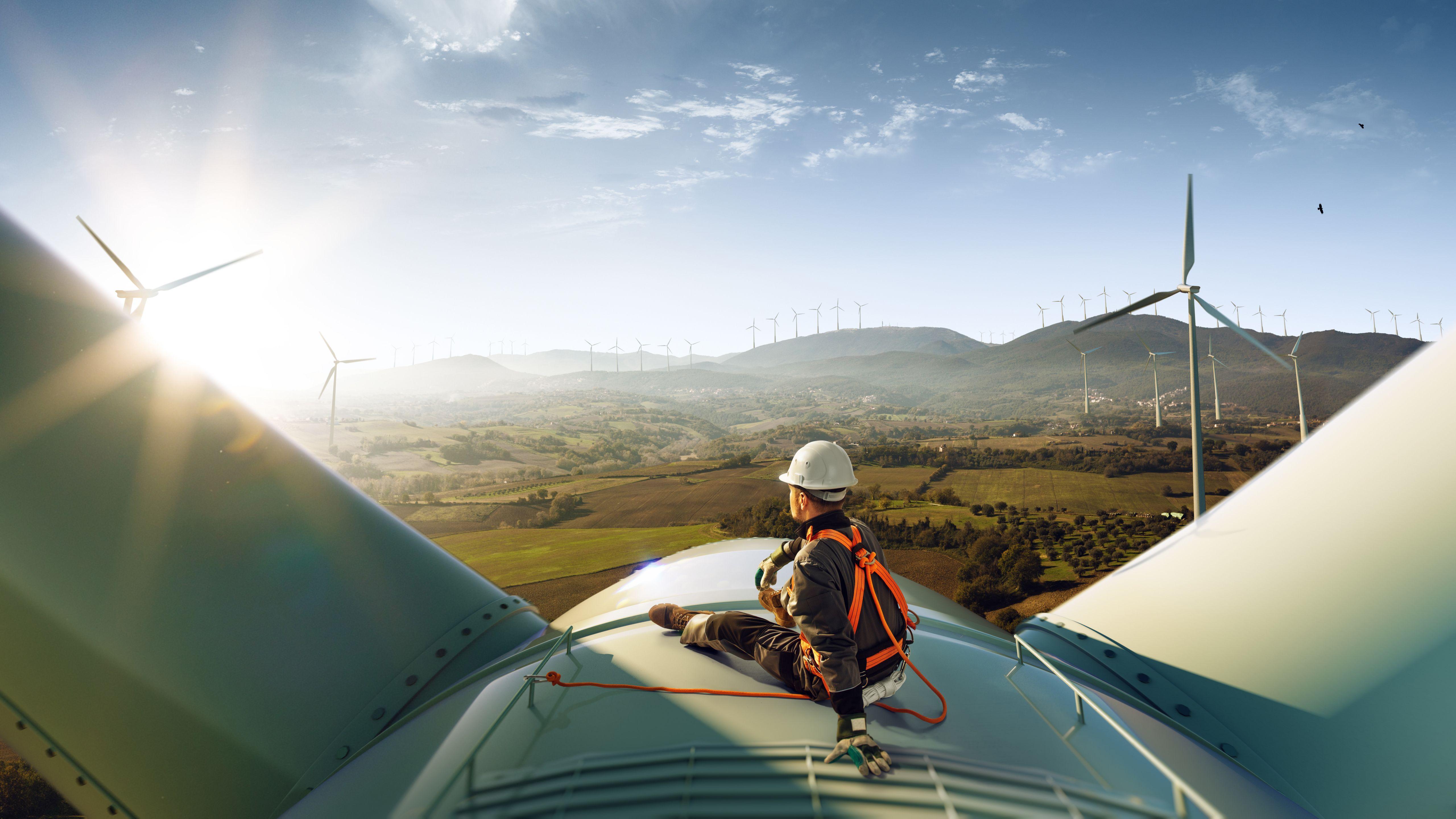 Energie zvětrných elektráren
