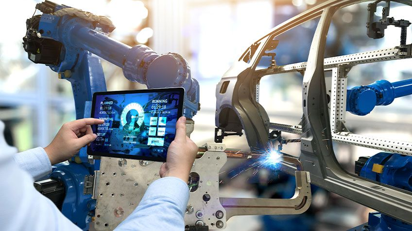 自動車会社が生産を改善