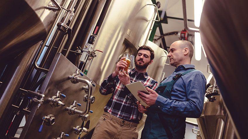 プロセス分析ツールによる醸造所の効率化