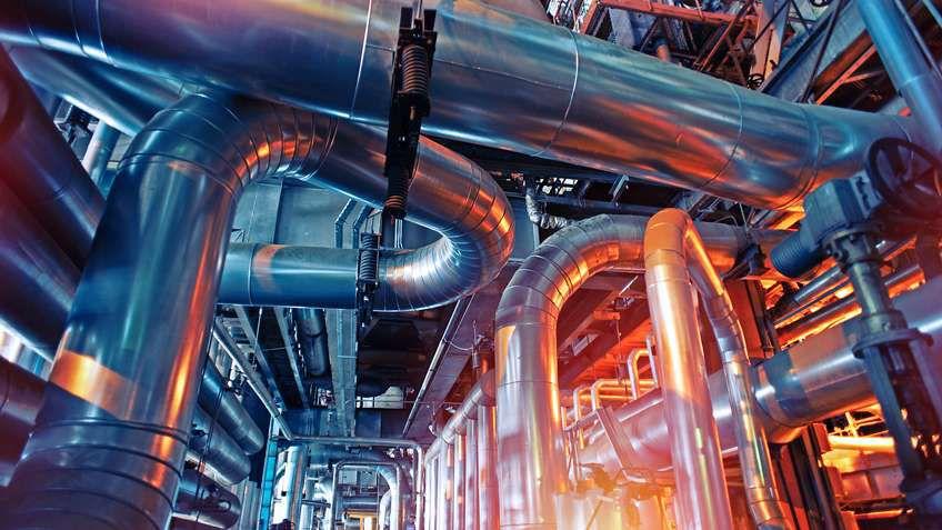 化学製品メーカ: 町に新しい工場
